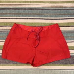 Champion Board Shorts-Red & Pink